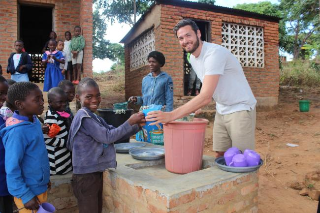 Craig Gordon in Malawi