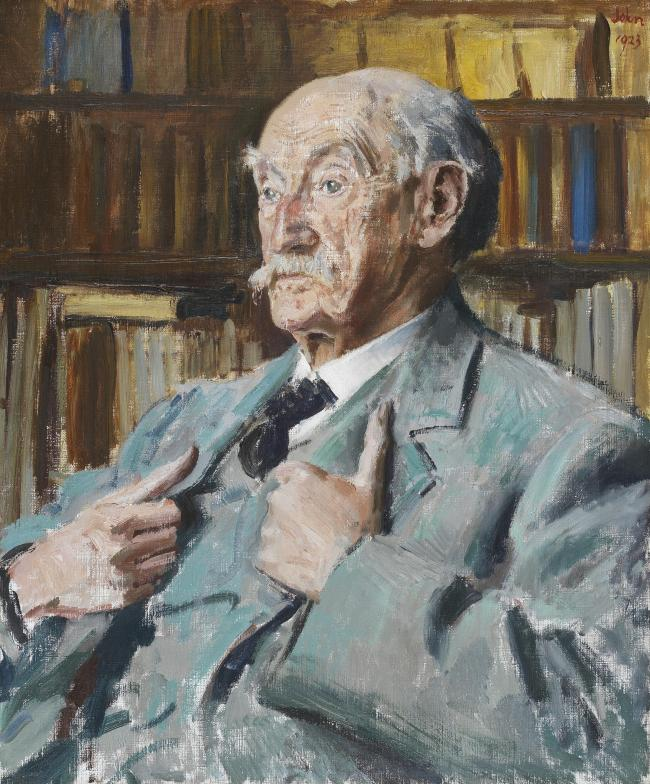 Thomas Hardy, by Augustus John (1923) 