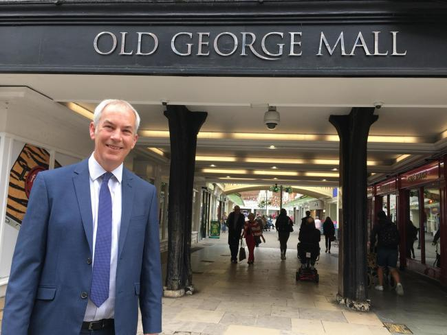 Arnold Catterall, the new centre manager of the Old George Mall in Salisbury