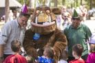 Gruffalo's 20th birthday celebrations                           Picture by Carolyn White