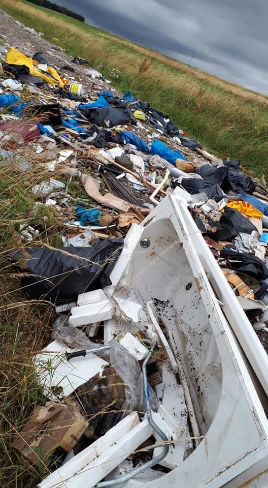Flytipping continues to blight countryside after tip closure