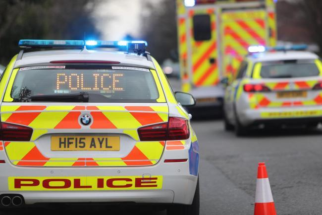 Road in Old Sarum closed after collision