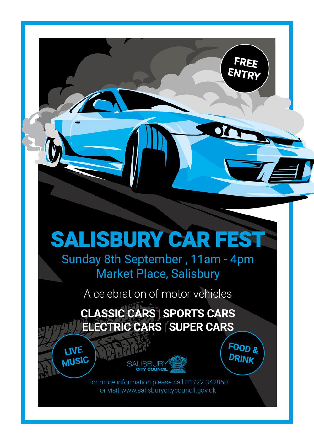 Salisbury Car Fest on 8 September at 11:00