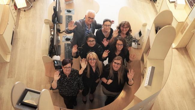 The team at Memory Opticians, which has practices in Salisbury and Amesbury