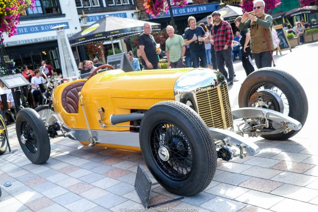 There will be a range of classic and modern cars on show