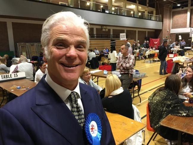 MP for New Forest West Desmond Swayne.