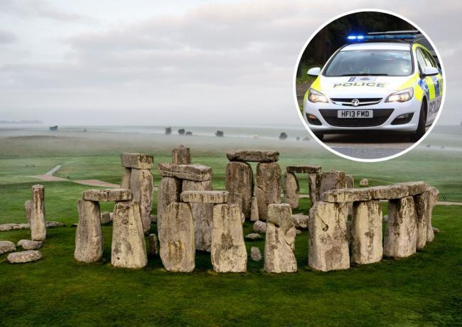 A man's body was found in a field near Stonehenge in Amesbury