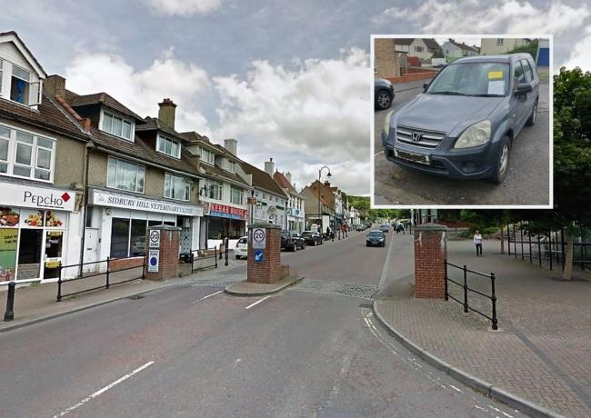 Tidworth woman fined for abandoning her Honda CRV in town