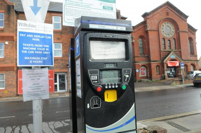 New contactless payment machines installed at Brown Street car parks in Salisbury