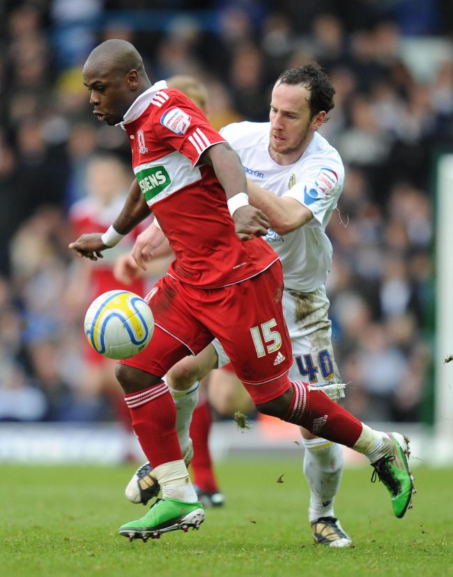 Leroy Lita, left, while at Middlesbrough