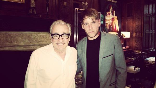Martin Scorsese with Dean Woodford