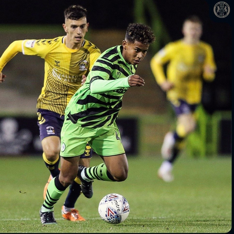 Salisbury teenager scores on debut as a professional footballer