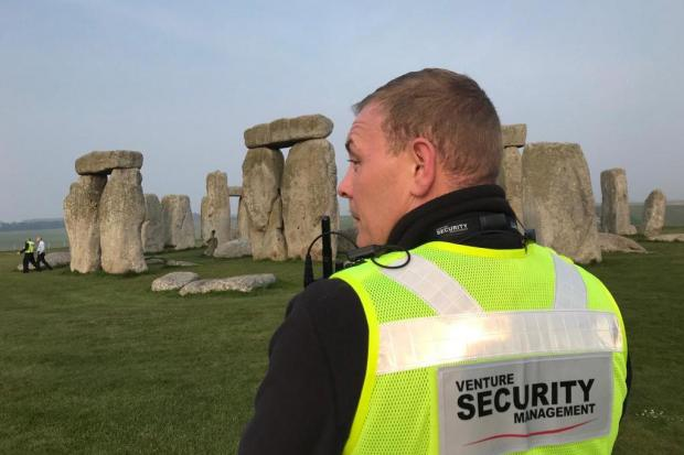 Venture Security at Stonehenge