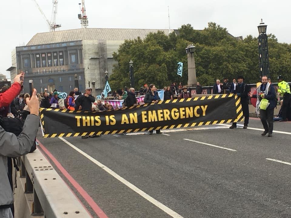 Extinction Rebellion Salisbury members arrested during London uprising