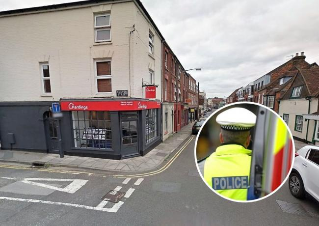 Paint sprayed through estate agent's letter box – causing £10k damage