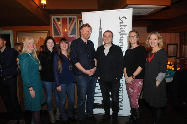The launch of this year's Salisbury Literary Festival