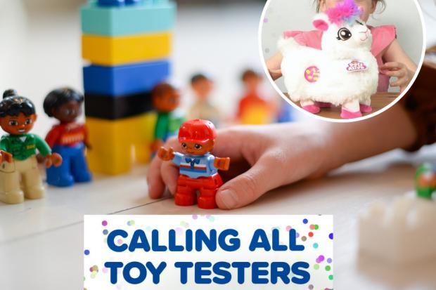 Children wanted to become official TOY TESTERS