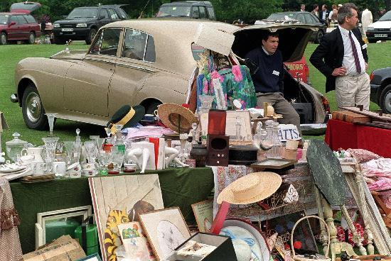 Charity car boot sale cancelled this weekend due to weather