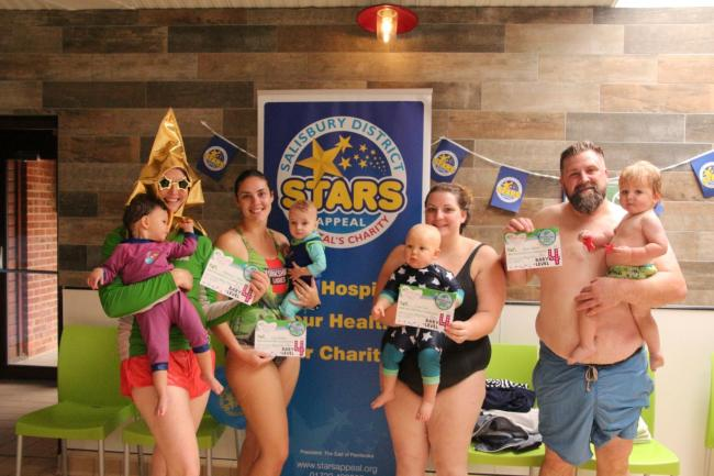 Turtle Tots Salisbury swimmers go extra lengths for local charity