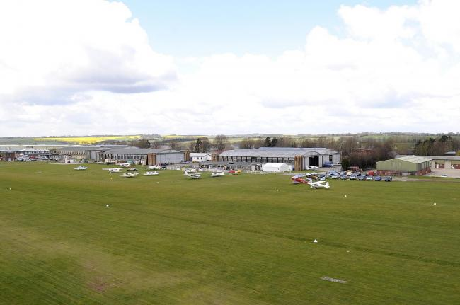 Vanguard Helicopters, Old Sarum Airfield..Old Sarum Airfield....Picture by Tom Gregory..21/04/2012..DC1387P50.
