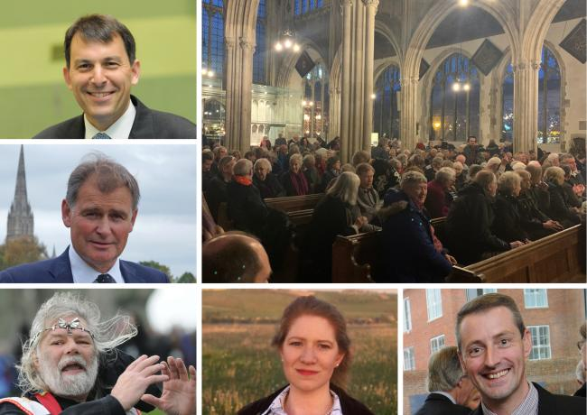 Salisbury candidates for the 2019 General Election on December 12