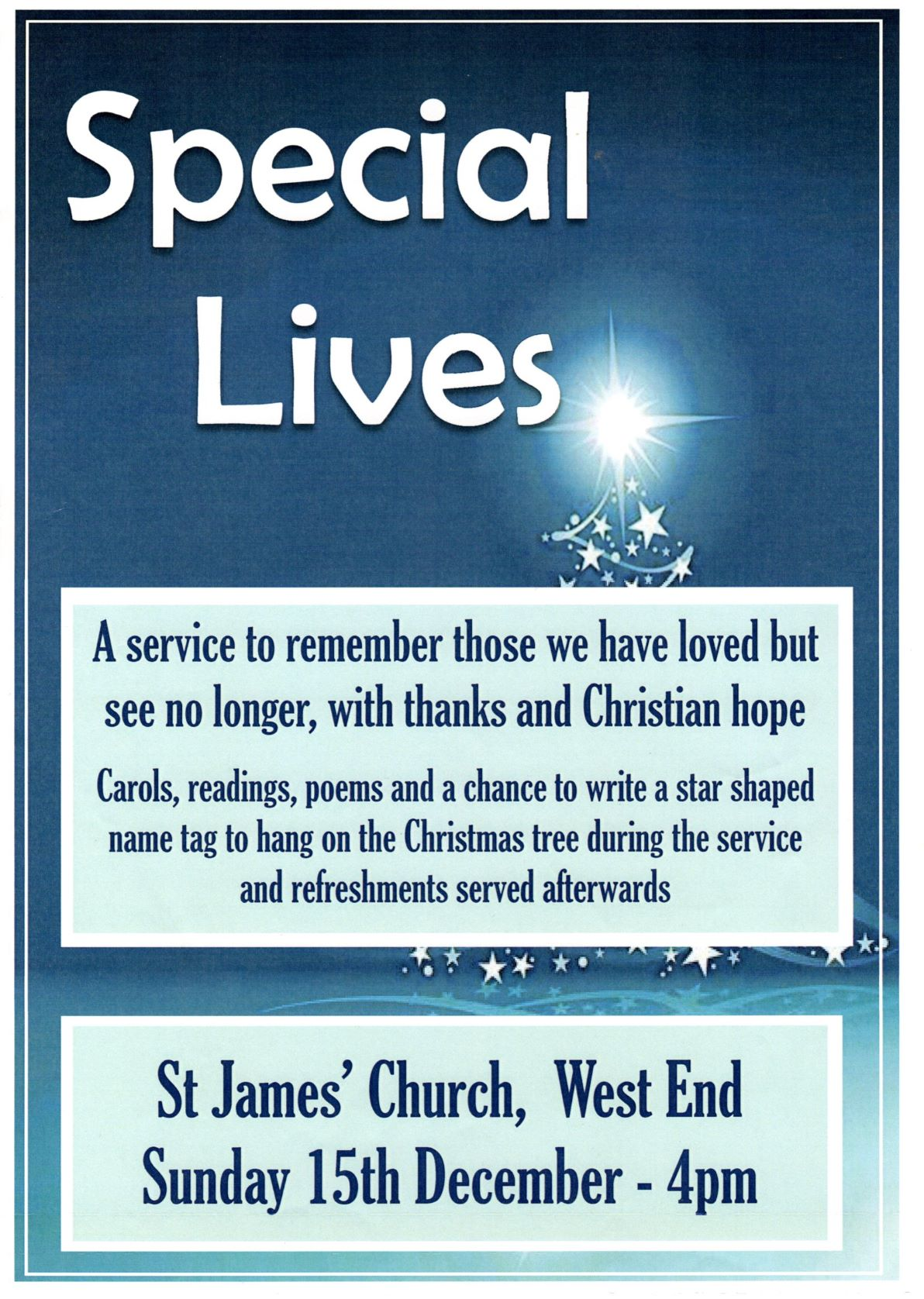 Special Lives Service