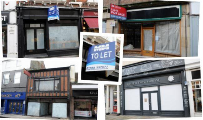 Shop closures in Salisbury - Pictures by Tom Gregory