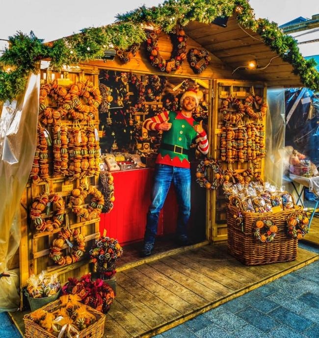 Salisbury Christmas Market 2019/20 - Picture by camera club member Antony Topham