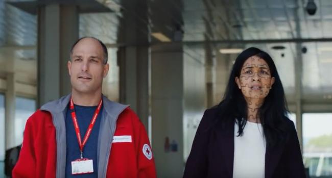 Norbert Weber stars in British Red Cross #EveryRefugeeMatters video - Screengrab from British Red Cross Youtube channel