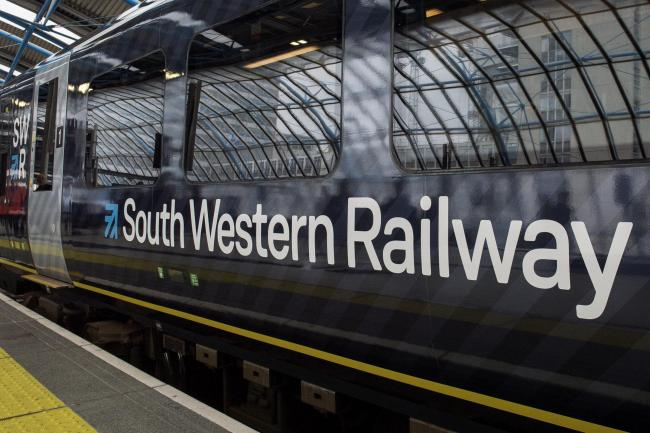 File photo dated 04/09/17 of a South Western Railway (SWR) train. Train operator South Western Railway has acknowledged it could lose its franchise contract after recording a loss of £137 million. PA Photo. Issue date: Tuesday January 7, 2020. In th