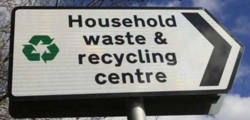 Changes to opening times of household waste and recycling centres in Hampshire
