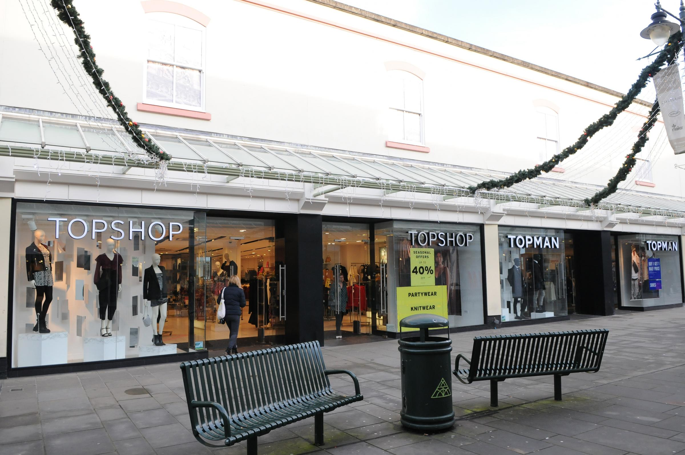 Topshop and Topman in Salisbury saved from closure
