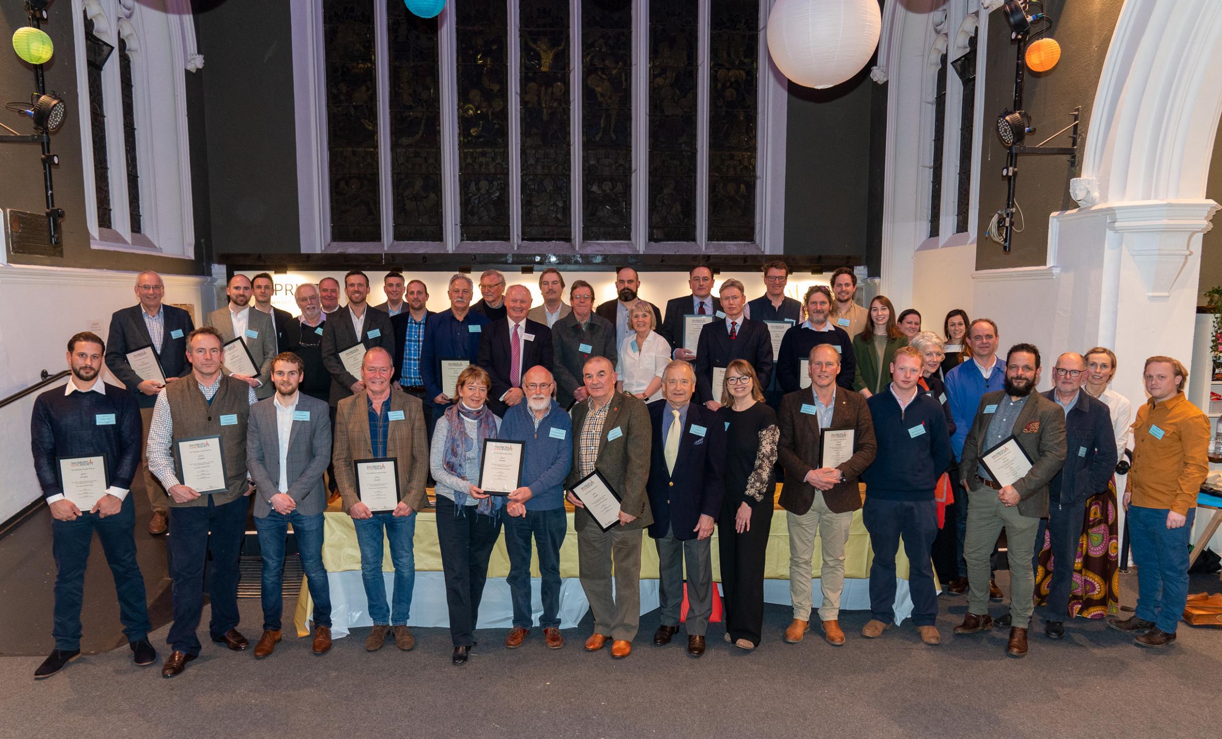 Salisbury Civic Society new buildings awards scheme 2019