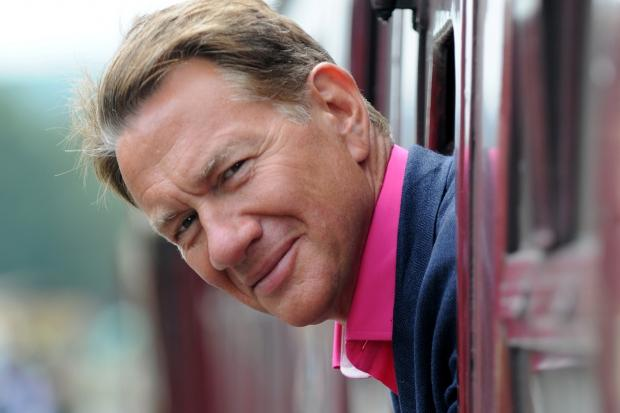 Michael Portillo is at City Hall, Salisbury next week (January 31)