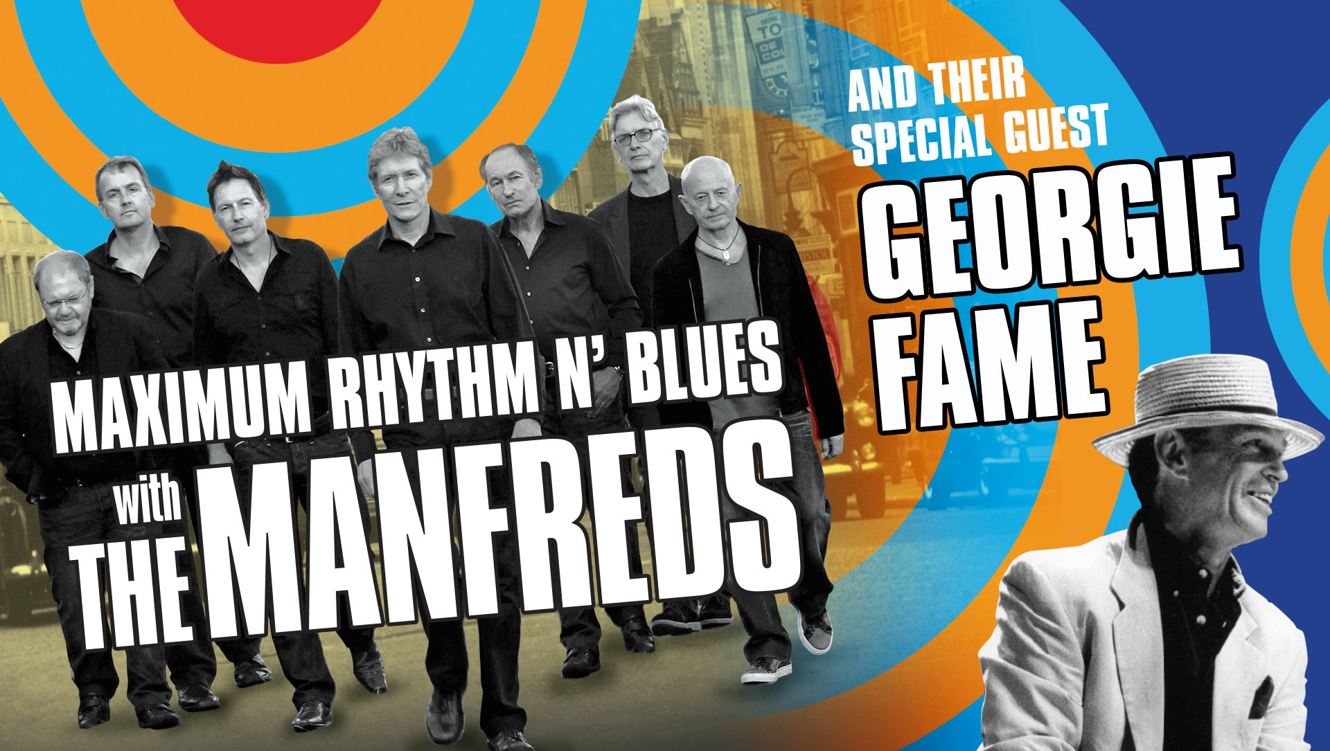 Maximum Rhythm and Blues with The Manfreds and Georgie Fame