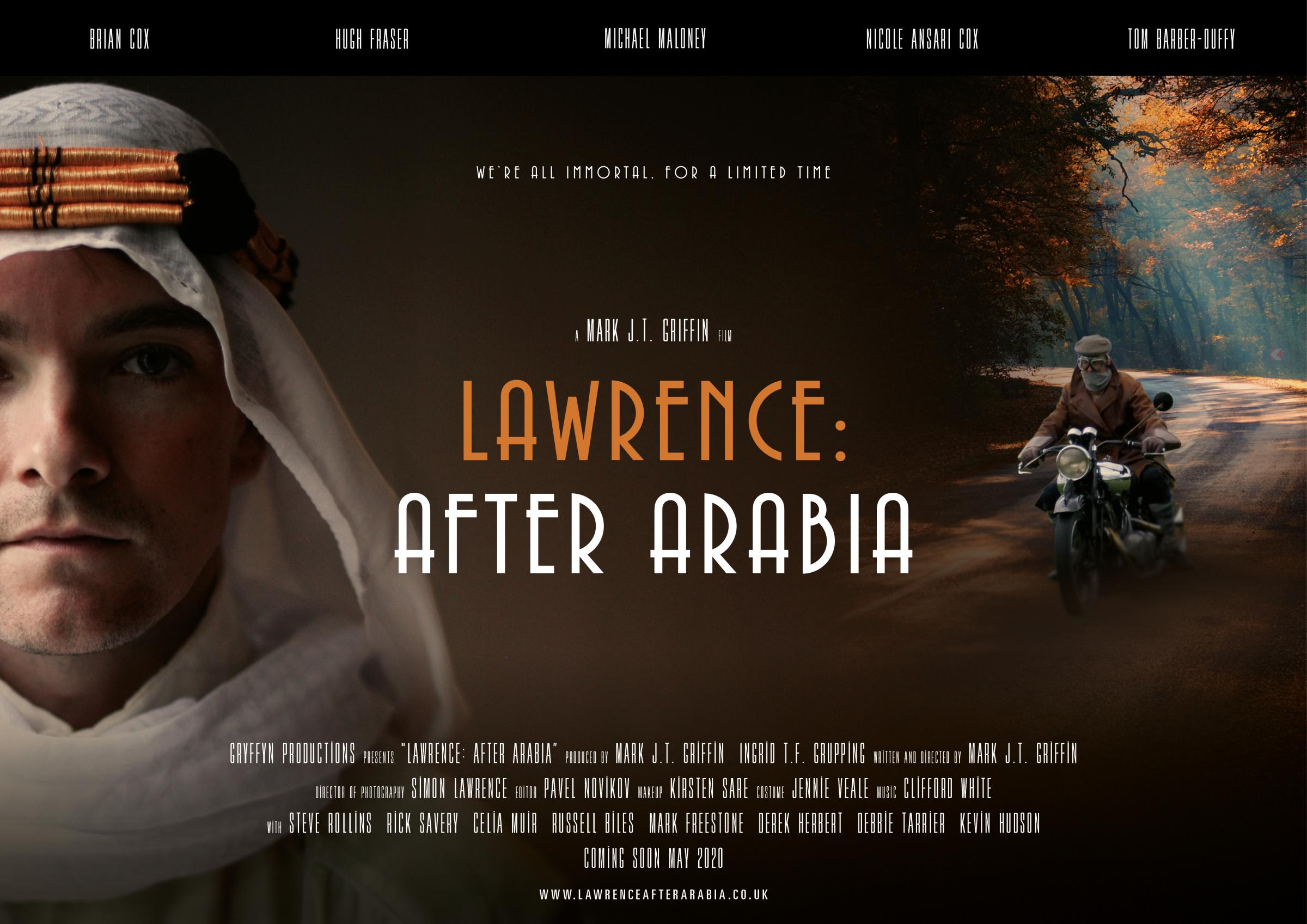 Lawrence: After Arabia - Screening and Director Q&A