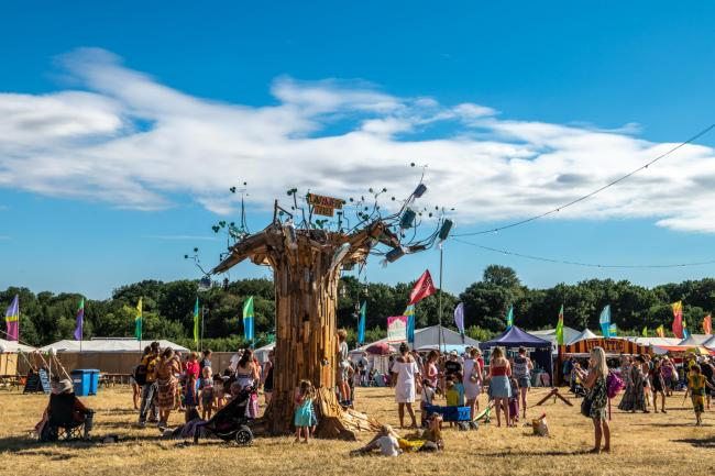 Last year's Larmer Tree Festival. Picture Garry Jones
