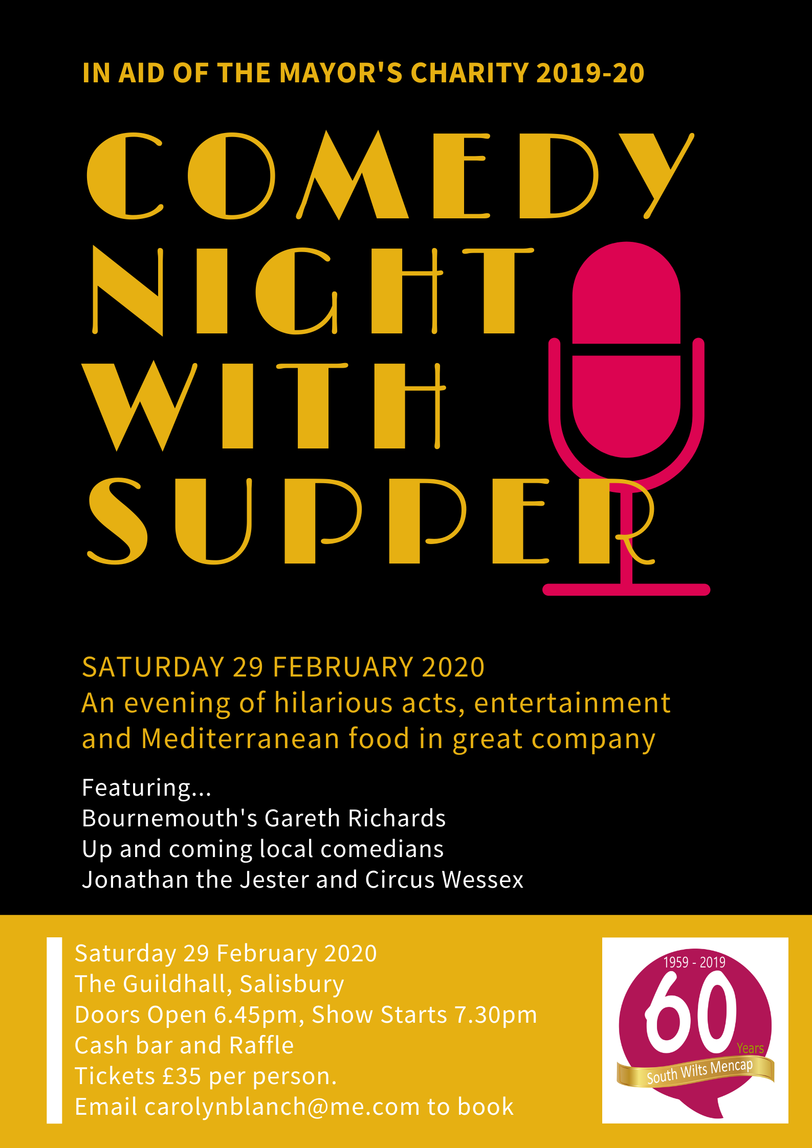 Comedy Night with Supper
