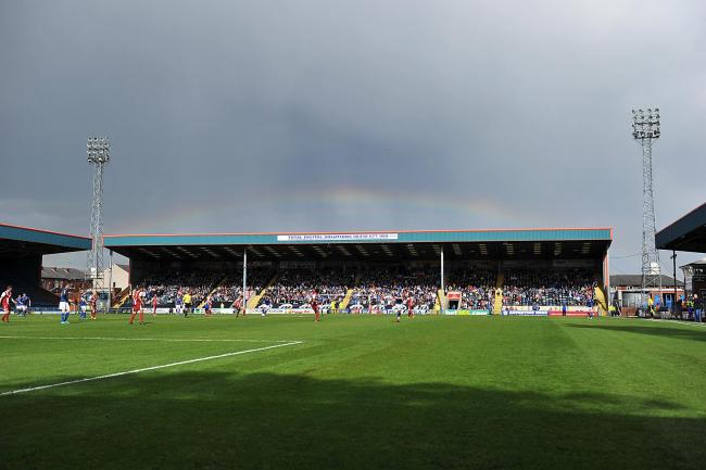 Bad weather put paid to any prospect of play at Rochdale