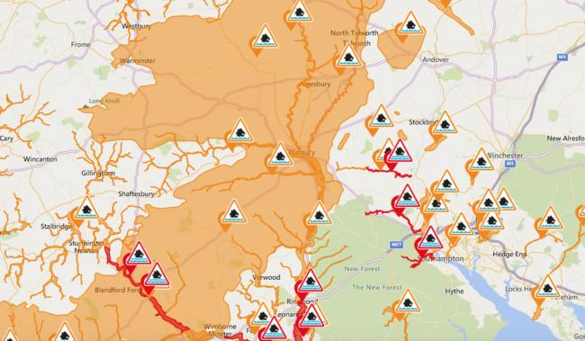 'Immediate action required' - Flood warnings and alerts issued as Storm Dennis enters day two