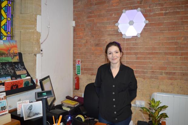 Salisbury Journal: Jo Boyles of Rocketship Bookshop