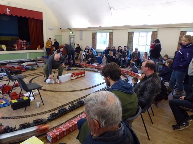 The giant model train event in Fordingbridge returns for a second year