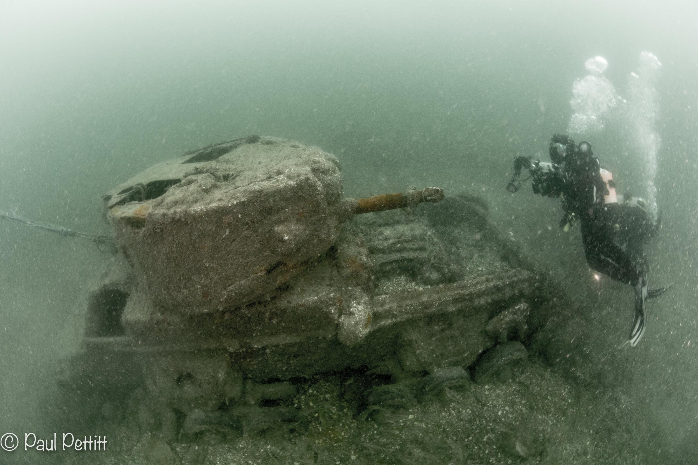 The WW2 Tanks that Swam