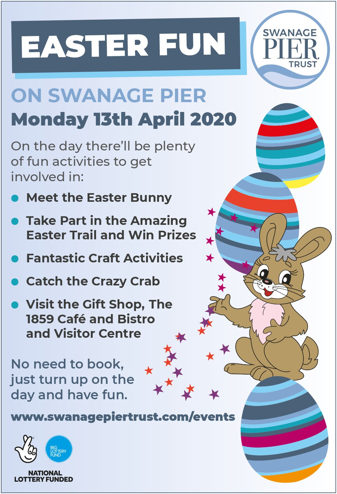 Easter Fun on Swanage Pier