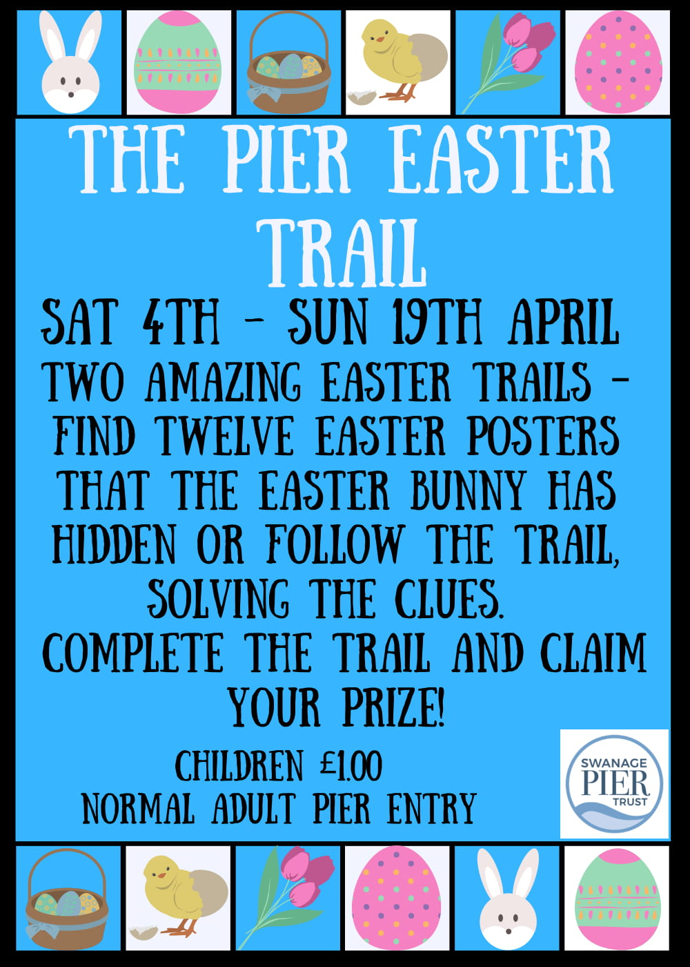 Swanage Pier Easter Trail