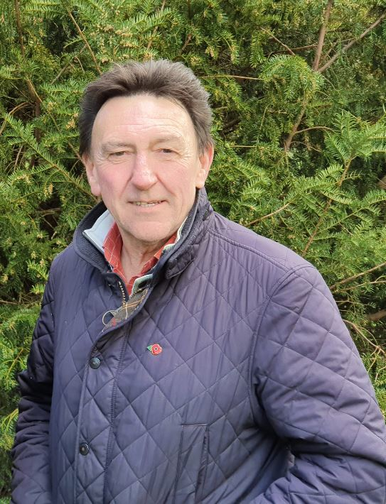 The new Wiltshire councillor for Till and Wylye Valley, Kevin Daley