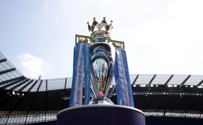 File photo dated 06-05-2018 of the Premier League trophy. PA Photo. Issue date: Thursday March 19, 2020. Premier League clubs will attempt to thrash out a plan to complete a season placed on ice by the coronavirus pandemic when they meet via a conference