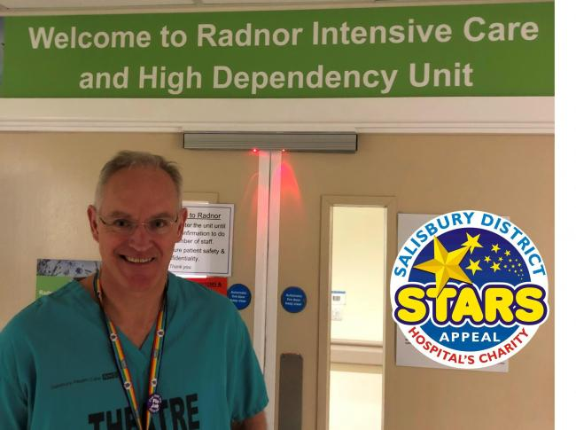 Doctor Duncan Murray - Stars Appeal Ambassador and ICU doctor