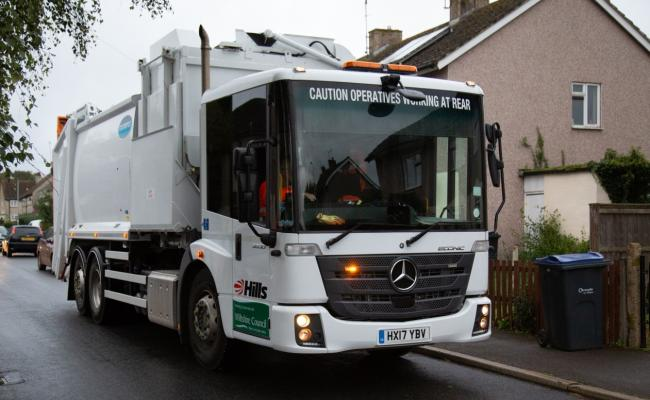 Hills waste lorry