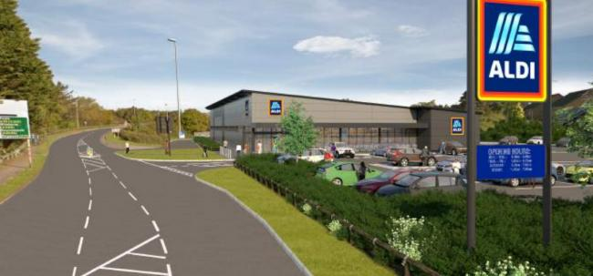 Aldi plans to open a new store in Purbeck